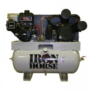 COMPR. IRON H MOTOR GAS 12HP 175psi 30gl 22CFM@90PSI