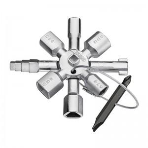 LLAVE EN CRUZ P/TABLERO 10 PERFILES KNIPEX